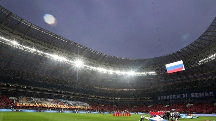 Студия РФС ТВ перед матчем Россия – Бразилия