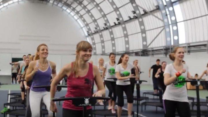 Новый фитнес на батутах
