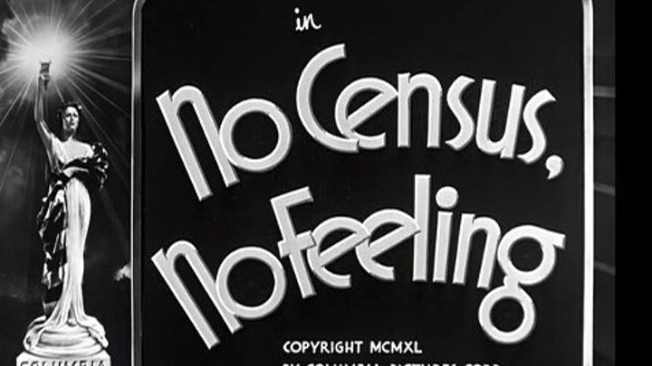 The Three Stooges S07E07 No Census, No Feeling (1940) Moe Howard, Larry Fine, Curly Howard, Symona Boniface, Bruce Bennett, : Directed by Del Lord