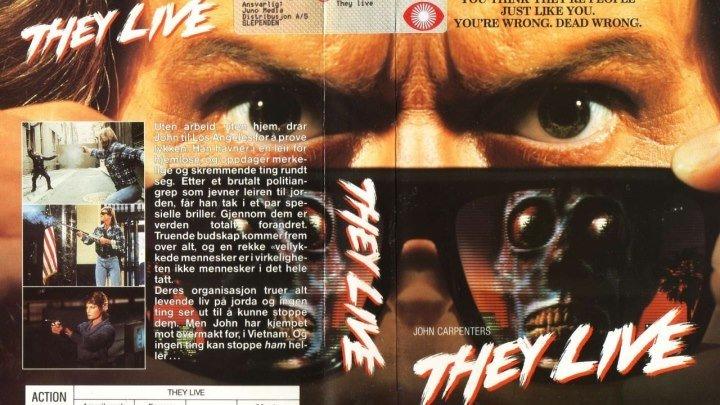 Чужие Среди Нас HD(1988) 1080p.Ужасы,Фантастика,Боевик,Триллер