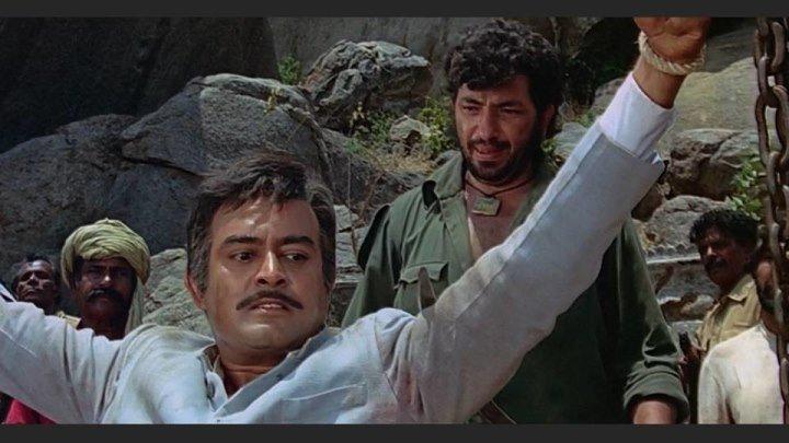 """HD и Полная версия! По многочисленным просьбам ФИЛЬМ-ЛЕГЕНДА -""""МЕСТЬ И ЗАКОН"""" - Sholay [1975, Индия, боевик, мелодрама, HD] MVO"""