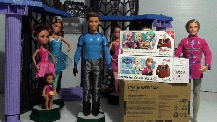 Куклы Барби и Принцессы Диснея Прямая трансляция 2