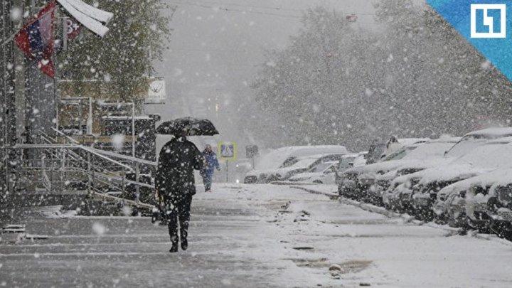 Снежный апокалипсис в Москве