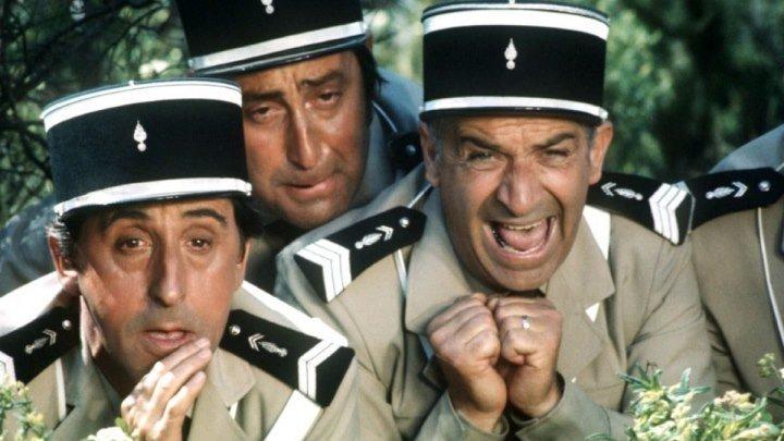 Жандарм из Сен-Тропе 1964 Франция, Италия комедия