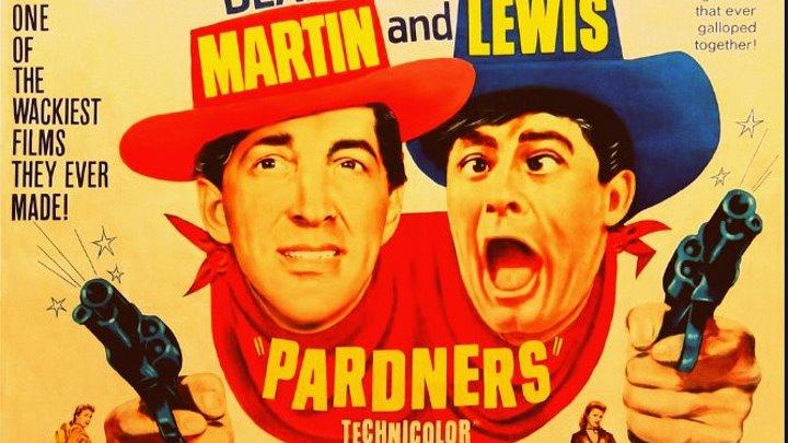 Pardners (1956) Dean Martin, Jerry Lewis, Lori Nelson, Agnes Moorehead, John Baragrey, Lon Chaney Jr., Lee Van Cleef , Stuart Randall,