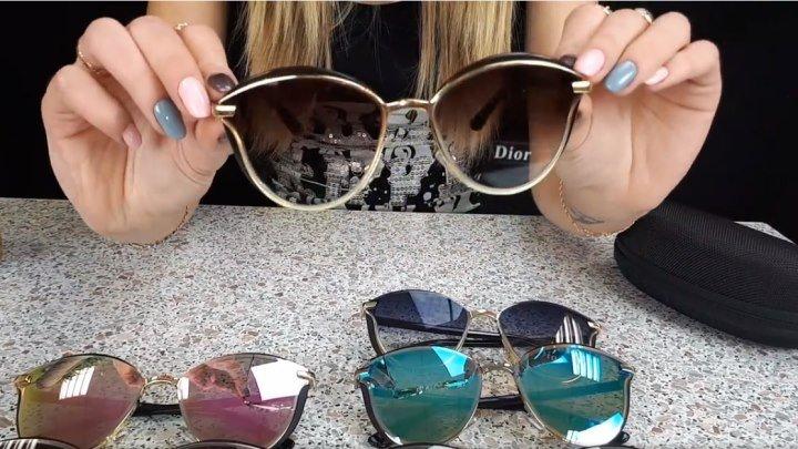 Очки Диор одни из самых красивых среди топовых моделей солнцезащитных очков