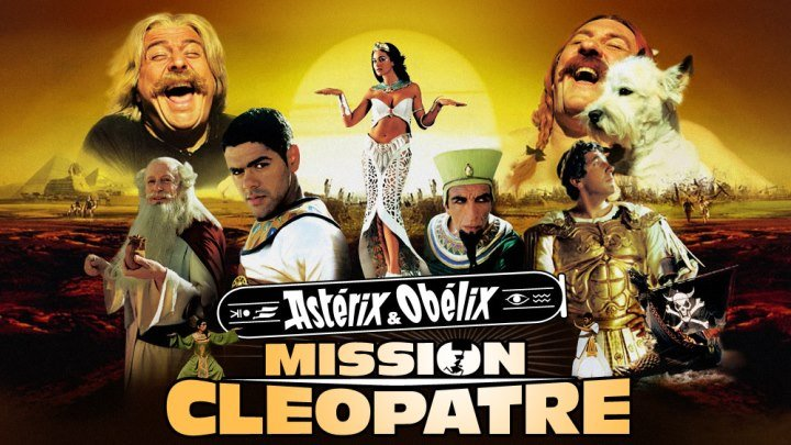 Asteriks va Obeliks Klyapatra topshirig'i (Xorij kinosi O'zbek tilida HD)