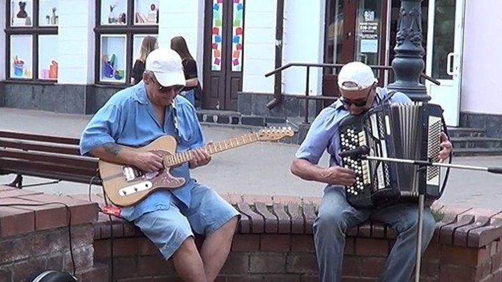Тополя, тополя! Под баян и гитару от талантливых музыкантов из Бреста!