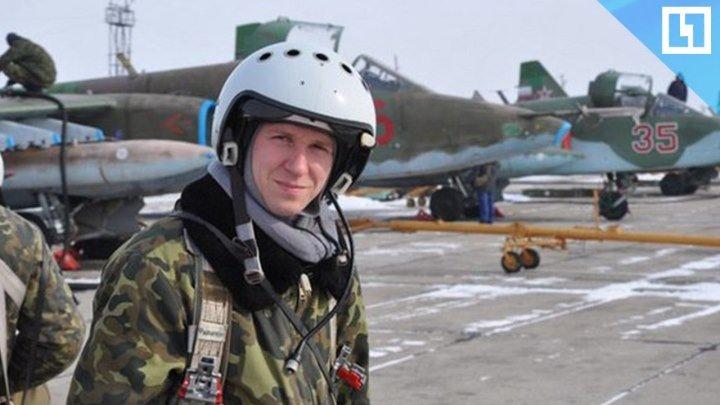 Прощание с летчиком Романом Филиповым