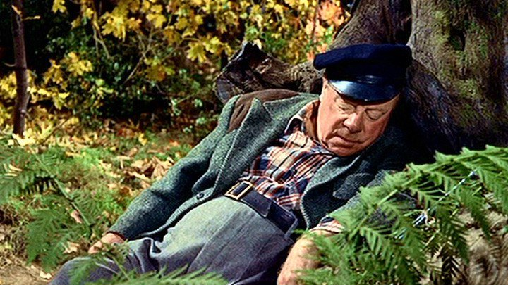Неприятности с Гарри 1955 Альфред Хичкок комедия, детектив