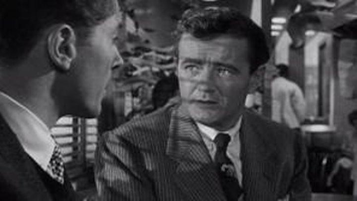 Незнакомцы в поезде (1951) Альфред Хичкок нуар, триллер