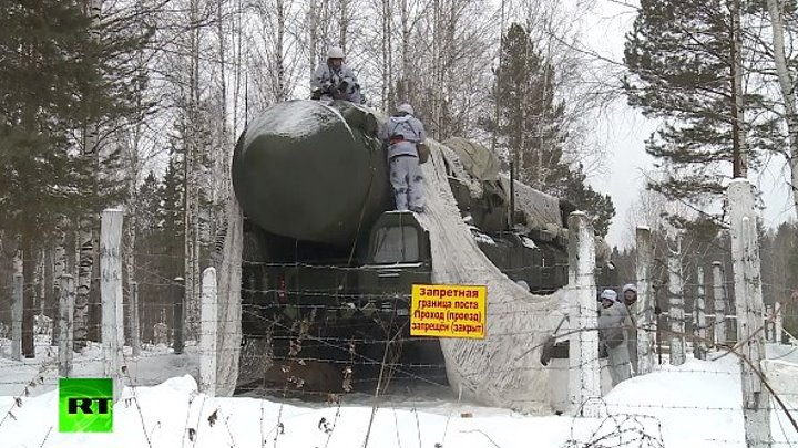 В РВСН проходят учения с использованием новейших ракетных комплексов «Ярс»