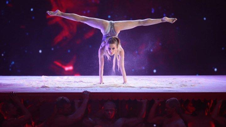 """Взрывное выступление Евы Шияновой на шоу """"Лига удивительных людей""""!"""