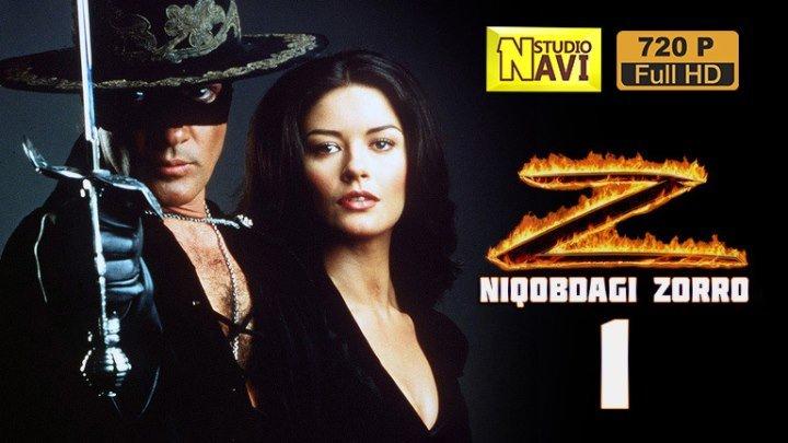 Niqobdagi Zorro (o'zbek tilida)HD