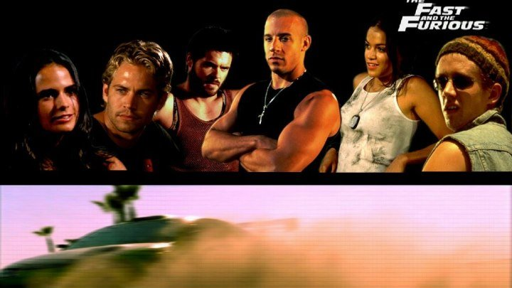 Форсаж 2001 HD боевик драма криминал