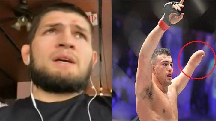 XAБИБ HYPMAГОМЕДОВ ВЫСКАЗАЛСЯ О НАБОЛЕВШЕМ ПЕРЕД UFC 223! ОДНОРУКИЙ БОЕЦ ММА ВЕРНУЛСЯ!