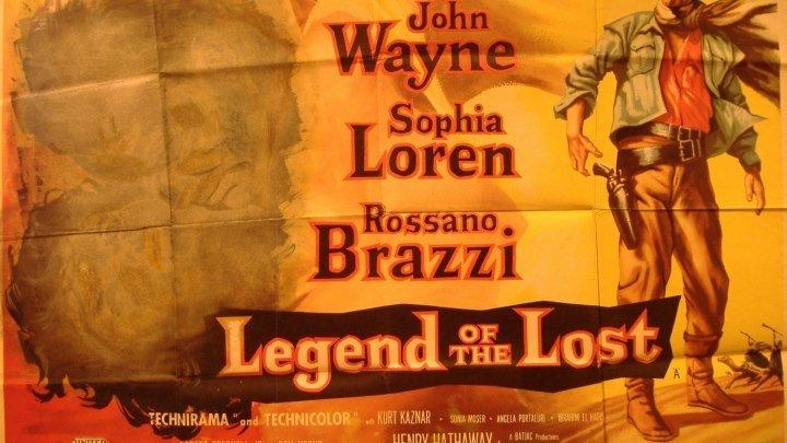 Legend of the Lost 1957 with John Wayne, Sophia Loren, Rossano Brazzi, Kurt Kasznar, Sonia Moser and Angela Portaluri,