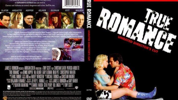 Настоящая любовь BDRip.(1993) 1080р.Триллер,Мелодрама,Криминал