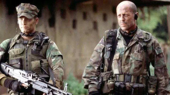 """Фильм """" Слезы солнца """" боевик, триллер, военный 2003"""