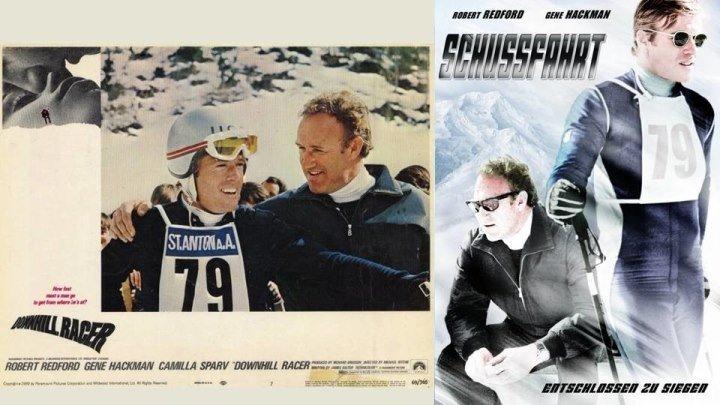 СУПЕР-РАРИТЕТ в Full HD !!! - СКОРОСТНОЙ СПУСК - Downhill Racer [1969, США, спортивная драма, BDRemux 1080p]