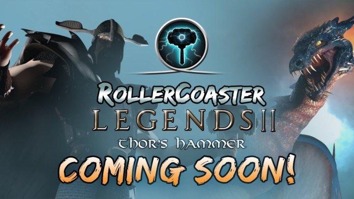 PSVR RollerCoaster Legends II Thor's Hammer - VR GAMECLUB Хабаровск