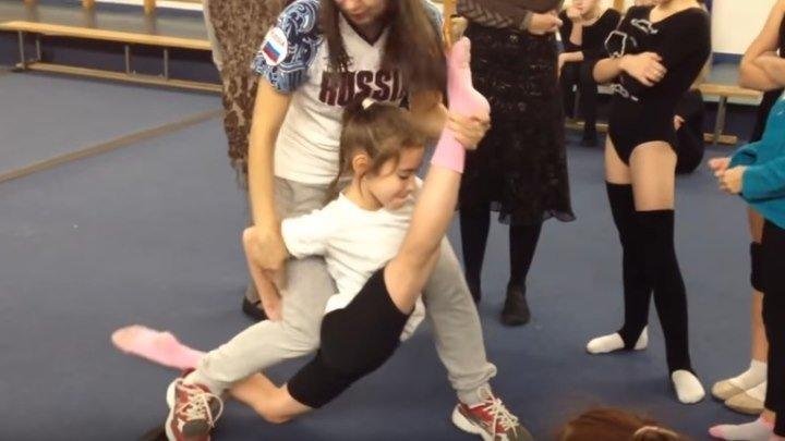 Растяжка в художественной гимнастике Профессионалы