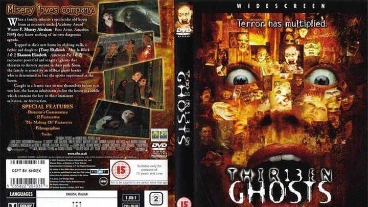 13 Привидений HD(2001) 720p.Yжасы