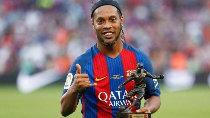Легенды Барселоны : Легенды Манчестер Юнайтед | Благотворительный матч | Обзор матча 720 НD