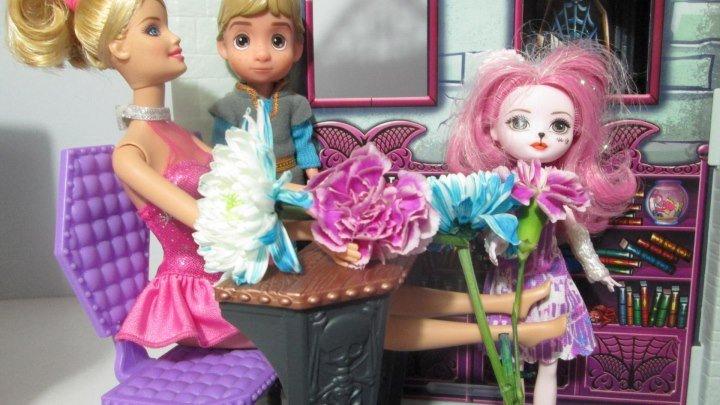 Куклы Барби и Принцессы Диснея Мультфильмы ТВ Прямой Эфир 20180519 19мск