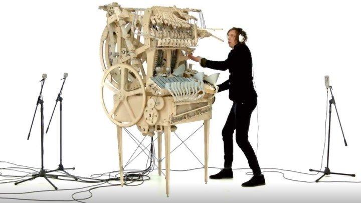 Группа Wintergatan... А вы видели такой музыкальный инструмент??? Здорово!