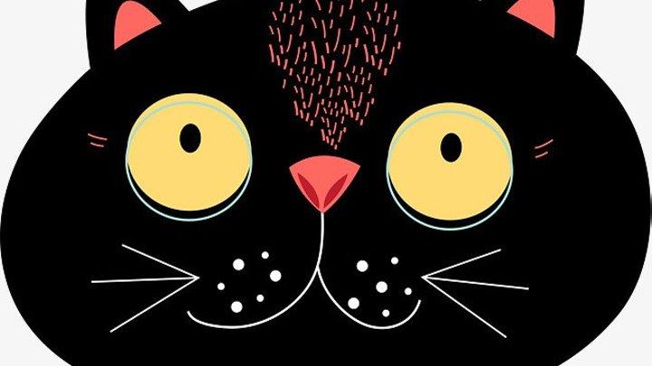 Вязаная ШАПКА крючком КОТЕНОК своими руками Crochet CAT Hat - Cat spokes котоШАПКА Кошка