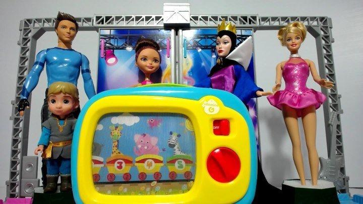 Куклы Барби и Принцессы Диснея Мультфильмы ТВ Прямой Эфир 20180522