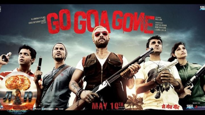 Иди, Гоа больше нет Айда на Гоа и обратно! Земля Зомби Go Goa Gone (2013) HDRip (720р).720