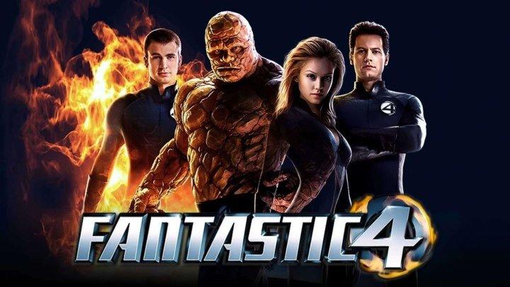 Фантастическая четвёрка HD(2005) 1O8Op.Фантастика,Боевик,Приключения