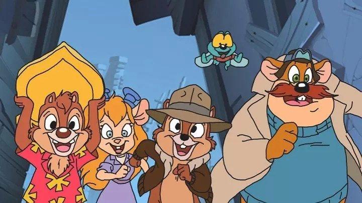 Ретро мультфильмы: Чип и Дейл спешат на помощь.2 сезон-1 серия. 1990.(мультфильм)