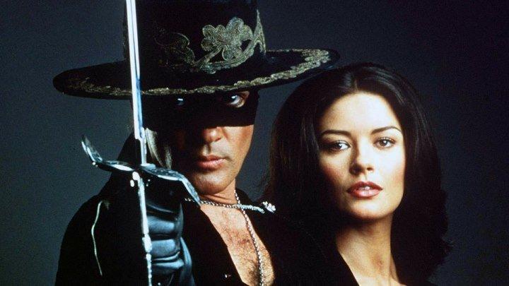Маска Зорро HD(1998) боевик, вестерн, приключения