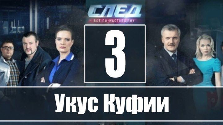 След. 1 сезон, 3 серия. Укус куфии 3. Криминал, детектив.