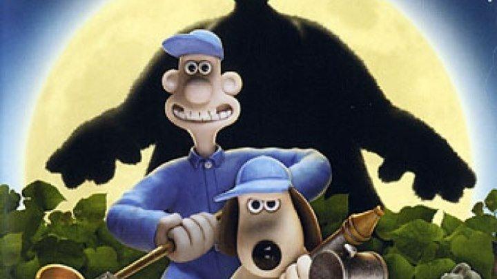 Смотреть мультфильм Уоллес и Громит Проклятие кролика-оборотня (2005)