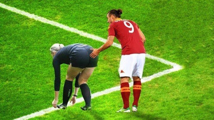 Смешные моменты в Футболе 2018