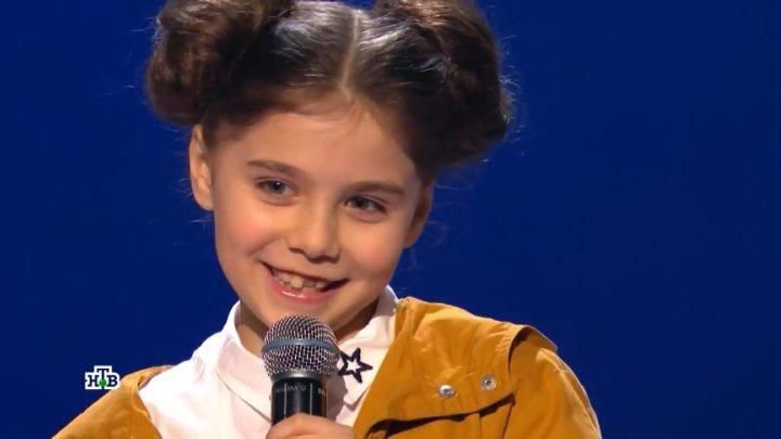 Девчушка пела ТАК, что ДРОБЫШ встал на колени!!!