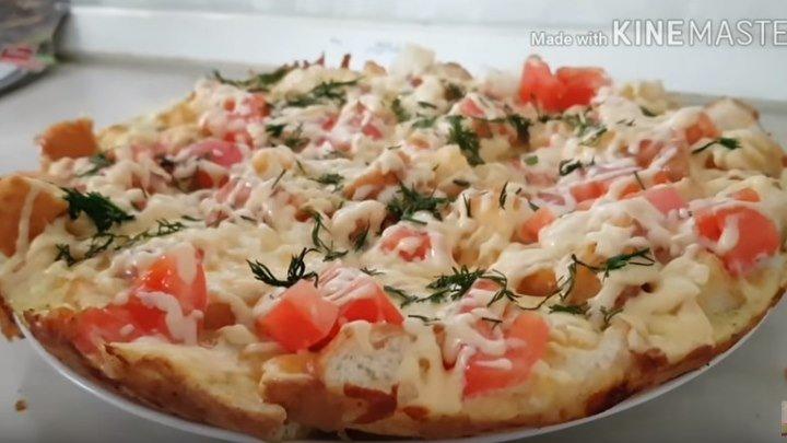 "Супер ""Пицца"" без теста. Цыганка готовит."