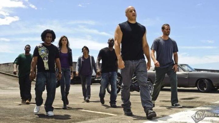 Форсаж 4 HD(2009) триллер, криминал, боевик