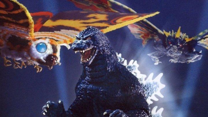 Годзилла против Мотры\\Битва за Землю BDRemux.(1992) 1080р.Фэнтези,Приключения
