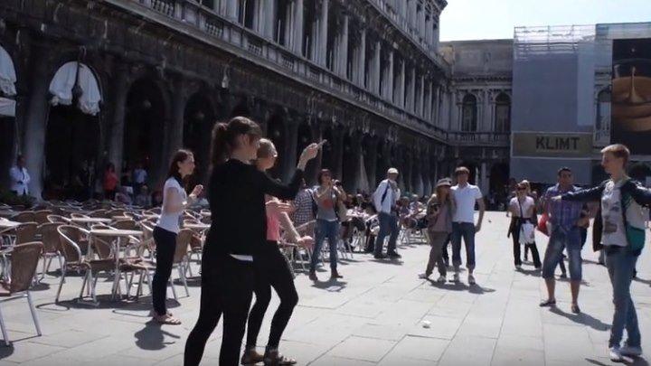Русская Калинка в Венеции. Просто супер!!! Позитив!!!