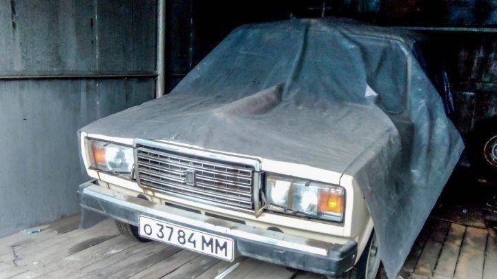 Нашли НОВУЮ семерку ВАЗ-2107, простоявшую 30 лет в гараже капсула времени