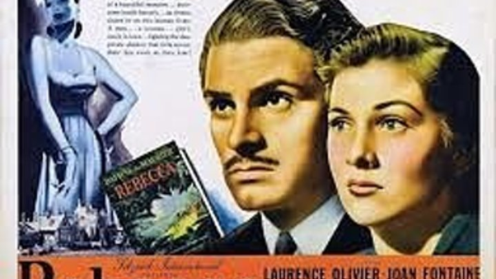 Rebecca 1940 with Joan Fontaine and Laurence Olivier