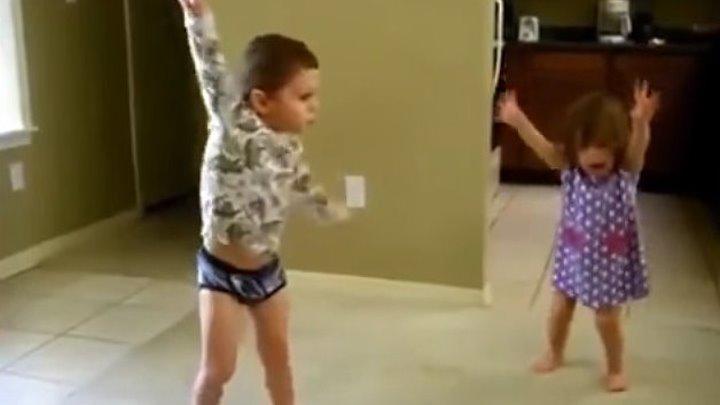 Дети танцуют! Мега позитив!!!