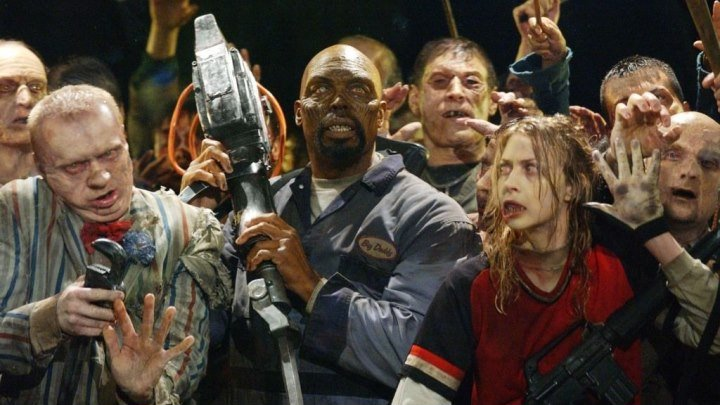 Земля мертвых (2005) ужасы, фантастика, боевик, триллер