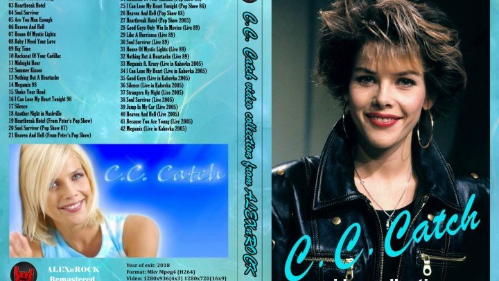 C.C. Catch - Video Collection.720р