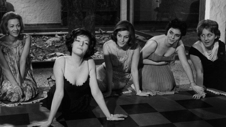 Ночь / La Notte (Италия, Франция 1961 ᴴᴰ) 16+ Психологическая драма